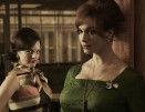 Peggy Olson (Elisabeth Moss) and Joan Harris (Christina Hendricks) Mad Men