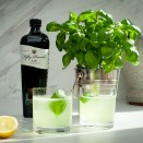 Basil Smash Gin Cocktail