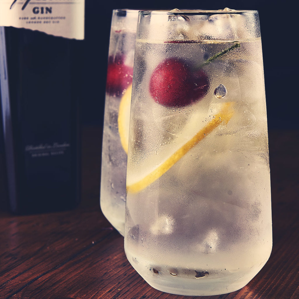 Gin & Tonic: low calorie cocktail