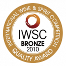 Bronze Medal - International Wine & Spirit Competition 2010