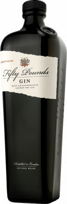 Fifty Pounds Gin bottle