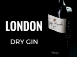 LONDON DRY GIN FIFTY POUNDS