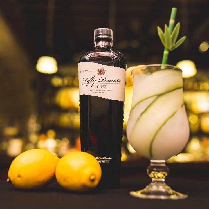 Cucumber Gin Lemonade Cocktail
