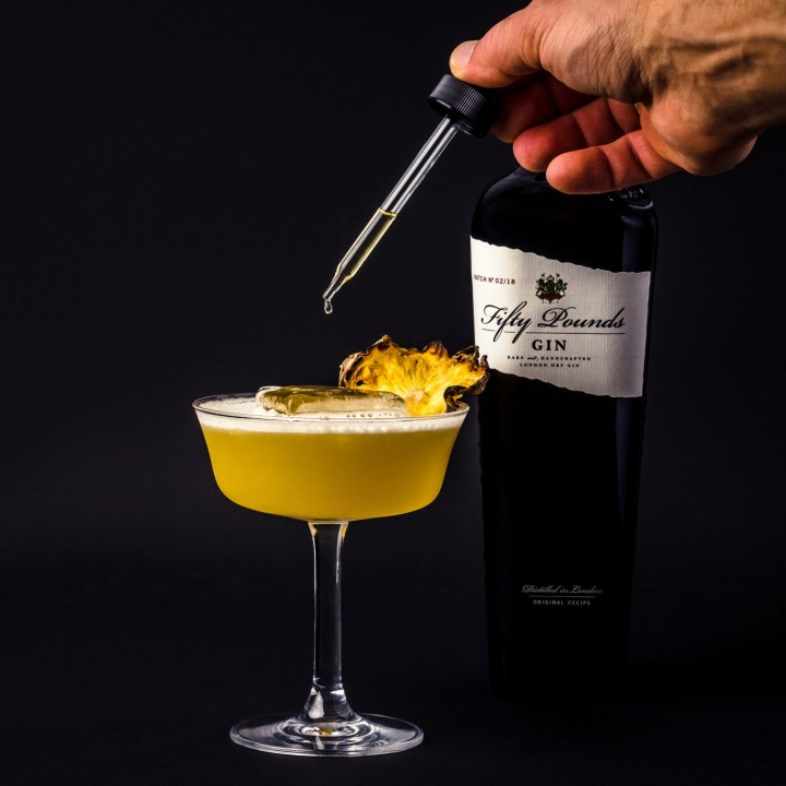 Cocktails using bitter