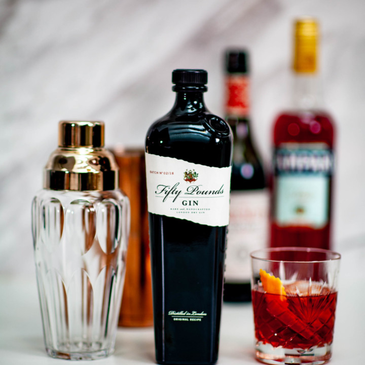 Fifty Pounds Gin Cocktail