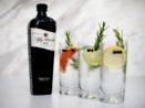 Fifty pounds gin high ball tom collins