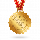 Top 30 Gin blog award