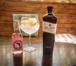 Fifty Pounds Gin Fentimans tonic