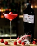 Fifty Pounds gin cocktail raspberry Martini