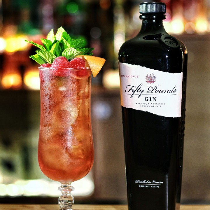 Fifty Pounds Gin Cocktail Winter Pimms
